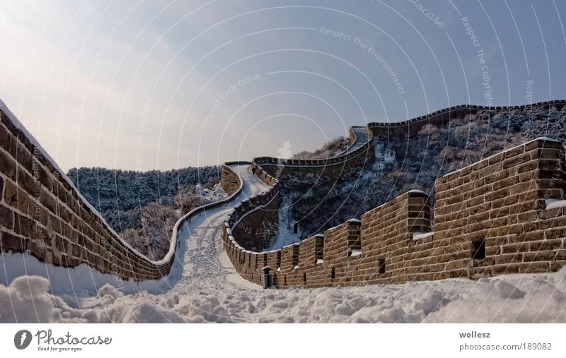 The Wall Art Work of art China Asia Ruin Manmade structures Architecture Stone Wall (barrier) Wall (building) Facade Tourist Attraction Landmark Monument