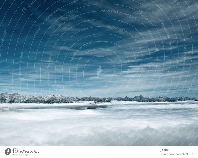 Sky Blue White Clouds Loneliness Calm Mountain Power Tall Climate Free Hope Peak Belief Optimism Snowcapped peak