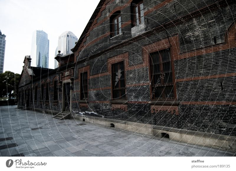 City Calm House (Residential Structure) Far-off places High-rise Facade Modern Asia Transience China Shanghai