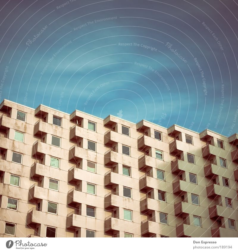 City House (Residential Structure) Cold Window Sadness Building Architecture Flat (apartment) Poverty High-rise Facade Gloomy Living or residing Boredom Hideous