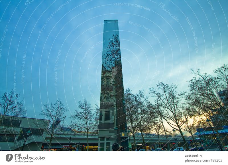 Sky Tree City Winter House (Residential Structure) Berlin Places Mirror Monument Holocaust memorial Stele