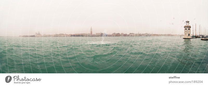 Beautiful Ocean Moody Italy Landmark Venice Tourist Attraction Cloudless sky Adriatic Sea