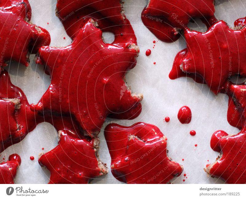 Scary Xmas Dough Baked goods Cookie Christmas biscuit Hallowe'en Blood Threat Disgust Creepy Hideous Beautiful Death Pain Fear Horror Fear of death Dangerous