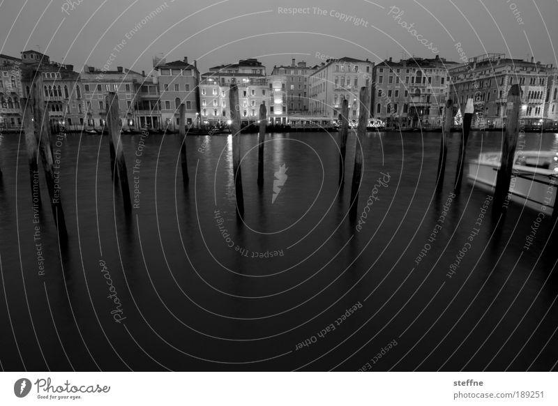 Water City Vacation & Travel Calm Dark Emotions Coast Moody Esthetic Romance Harbour Italy Skyline Jetty Downtown Venice