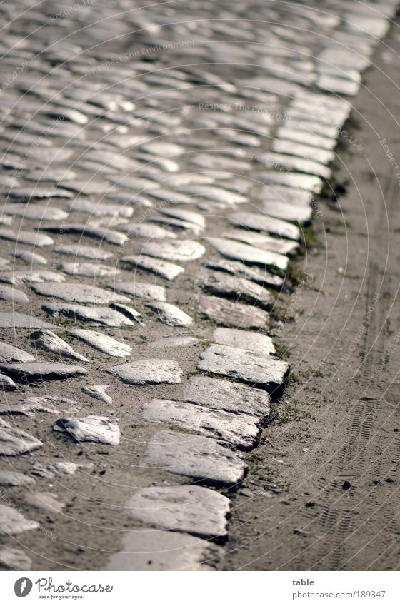 Old Street Emotions Stone Lanes & trails Sand Environment Earth Arrangement Gloomy Change Village Past Traffic infrastructure Cobblestones Career