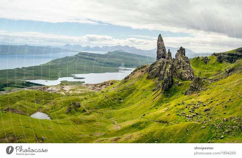The Storr. Healthy Athletic Contentment Calm Leisure and hobbies Vacation & Travel Tourism Trip Adventure Far-off places Freedom Expedition Island Mountain