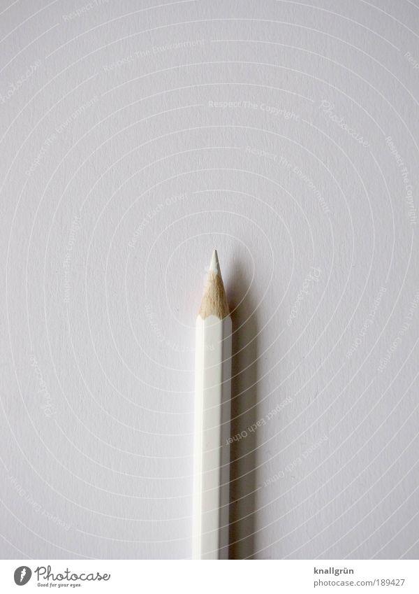 minimalism Paper Pen Crayon Wood Draw Write Esthetic Sharp-edged Point White Orderliness Idea Inspiration Communicate Creativity Tone-on-tone monotonous