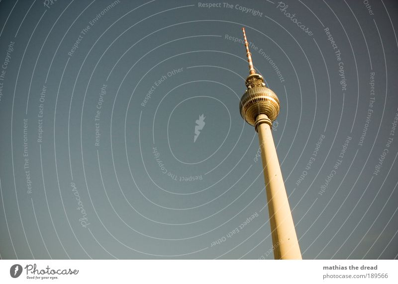 Berlin Architecture Building Tall Tower Manmade structures Sphere Skyline Monument Beautiful weather Landmark Information Technology Tourist Attraction