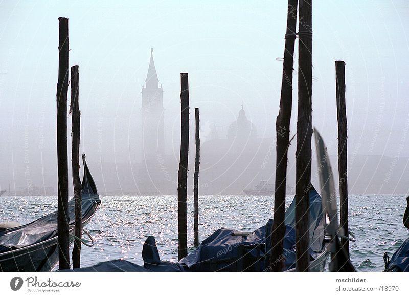 Water Watercraft Fog Europe