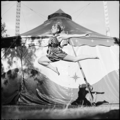 never want to put my feet back down on the ground Elegant Feminine Young woman Youth (Young adults) 1 Human being Dancer Circus Tent Flying Fantastic Beautiful
