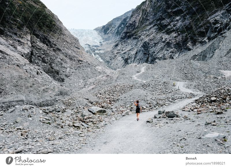 Searching for the glacier Nature Loneliness Apocalyptic sentiment Vacation & Travel Environment Environmental pollution Future Franz Josef Glacier