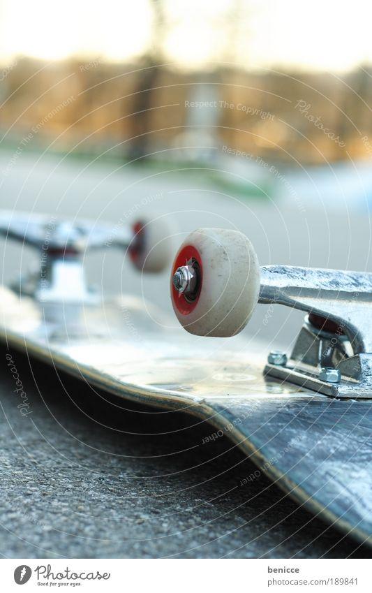 Street Sports Leisure and hobbies Lie Empty Cool (slang) Things Asphalt Skateboarding Wheel Accident