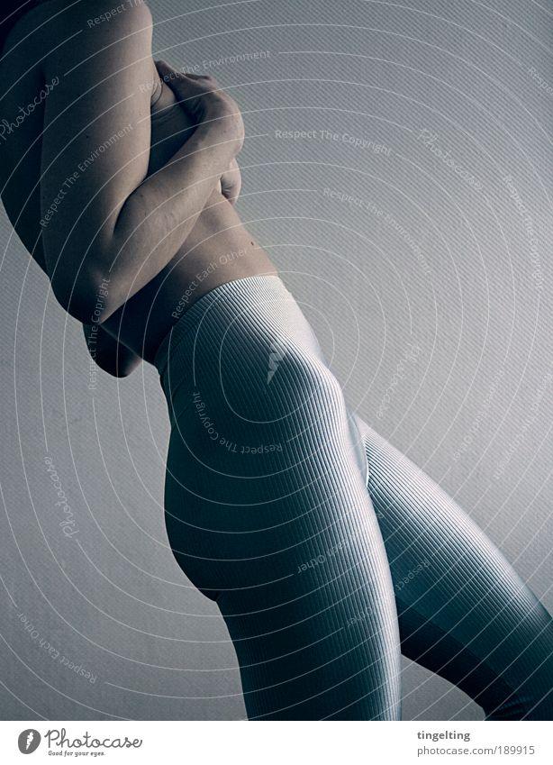 Blue Black Cold Feminine Legs Body Back Glittering Arm Skin Authentic Cool (slang) Bottom Fitness Human being Pants