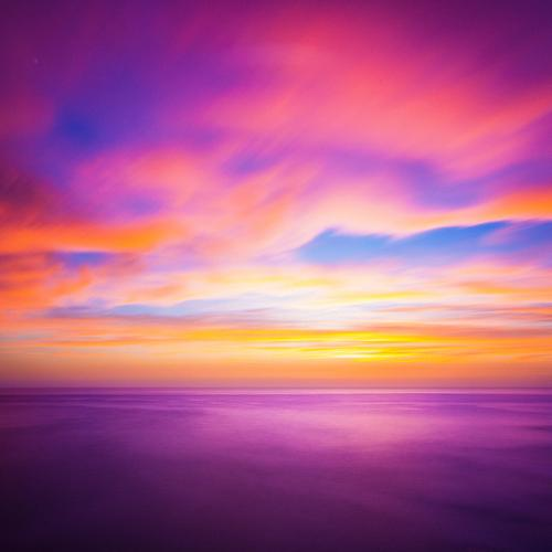 Romantic Colours Sky Nature Beautiful Ocean Red Clouds Joy Environment Yellow Lifestyle Background picture Coast Moody Bright Waves