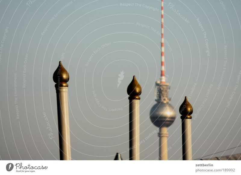 television tower Berlin TV Tower Television tower alex Alexanderplatz Near and Middle East Rod Domed roof Circus Set