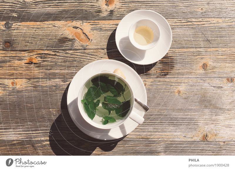 mint tea Food Herbs and spices Breakfast To have a coffee Buffet Brunch Organic produce Fasting Beverage Hot drink Tea Cup Spoon Wellness Harmonious Well-being