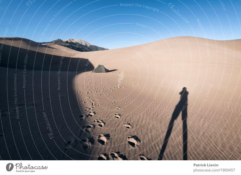 Human being Vacation & Travel Nature Calm Far-off places Mountain Environment Sand Trip Hiking Weather Adventure Beautiful weather USA Climate Desert
