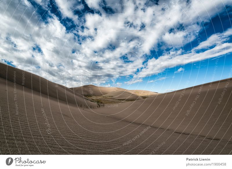 Great Sand Dunes National Park, Colorado Contentment Senses Relaxation Calm Vacation & Travel Adventure Far-off places Freedom Expedition Camping Hiking