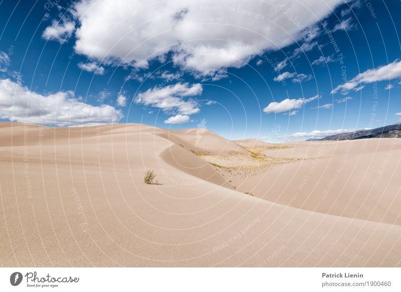 Great Sand Dunes National Park, Colorado Vacation & Travel Adventure Freedom Expedition Camping Hiking Environment Nature Landscape Elements Earth Sky Clouds