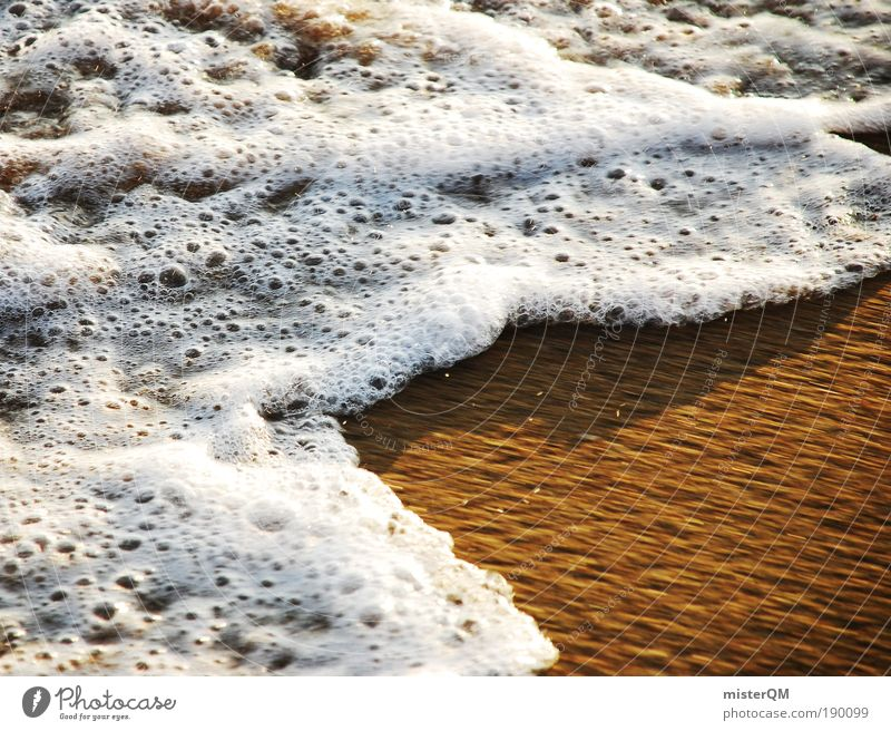 always moving. Nature Water Ocean Waves Beach Vacation & Travel Relaxation Calm Sea water Baltic Sea Spain Foam White Emotions Wind Movement Belief Hope Sand