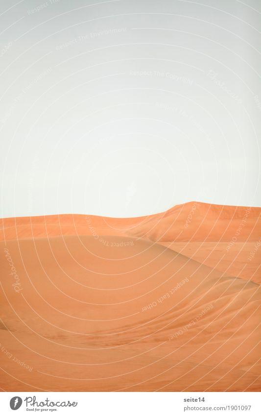 Sand Dune, Sand Dune, Desert, Dubai Vacation & Travel Trip Expedition Hiking Sky Climate change Warmth Car Hot Brave Thirst Homesickness Wanderlust Loneliness