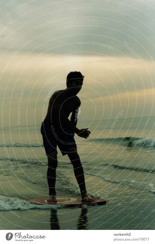 skiboarder Waves Sports Water