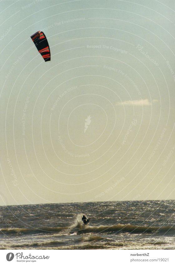 Water Ocean Sports Wind North Sea Surfer Kiting Sportsperson