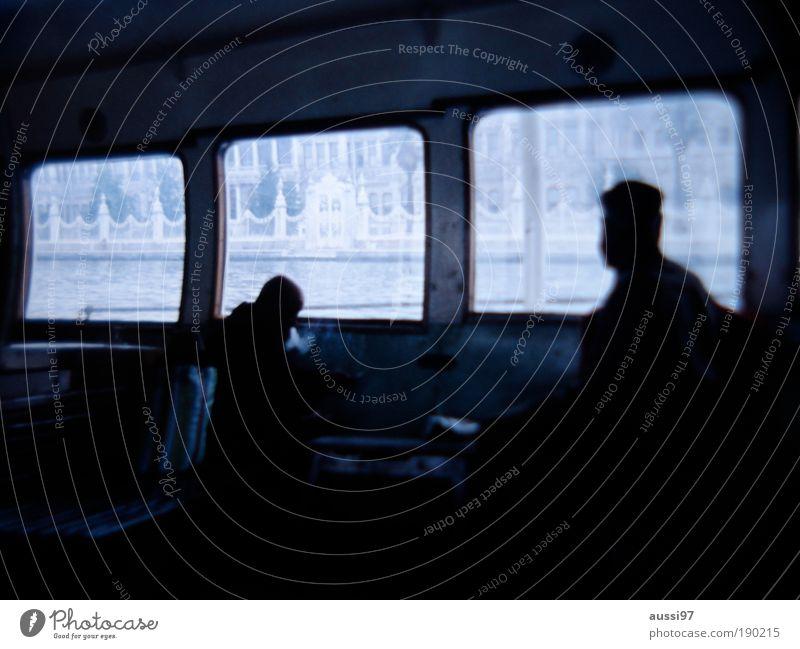dayhawks Ferry Public transport Fatigue bleak melancholically hazy solvent