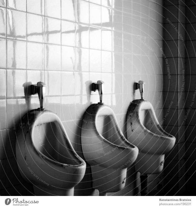 Old Dark Line Dirty Corner Factory Toilet Tile Industrial plant Seam Shadow Urinal Flush