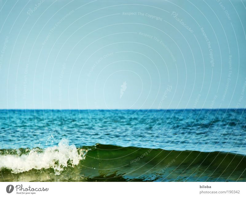 Nature Water Sky White Ocean Green Blue Summer Calm Far-off places Relaxation Freedom Landscape Air Waves Coast
