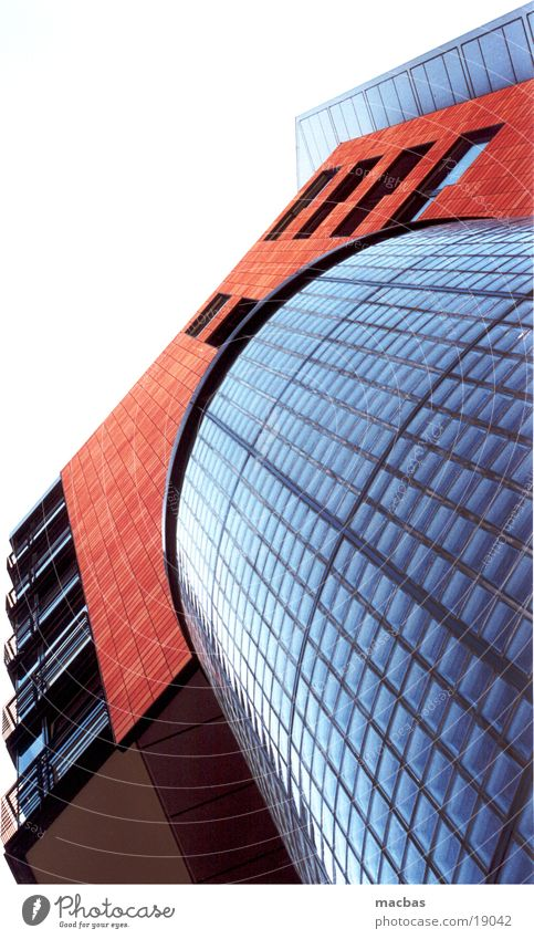 Sky City House (Residential Structure) Window Berlin Architecture Stone Building Metal Business Work and employment Germany Glass Facade Modern Tower