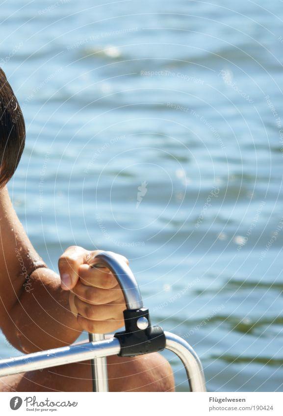 Hand Ocean Summer Lake Legs Swimming & Bathing Power Leisure and hobbies Climate Free Success Cool (slang) Wellness Watercraft Dive Baltic Sea