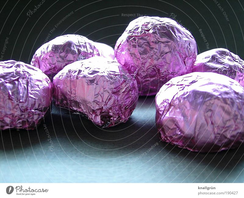 treat Food Candy Chocolate Nutrition Sphere To enjoy Glittering Delicious Round Gray Pink Black Contentment Luxury Stanio paper Sweet nerve food Happy