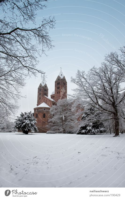 Nature Old Winter Snow Environment Landscape Architecture Stone Park Germany Ice Places Esthetic Church Europe