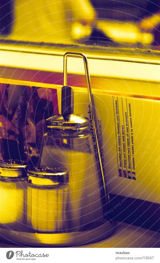 Yellow Nutrition Window Food Glass Gold Railroad Table Coffee Café Restaurant Sugar Tavern