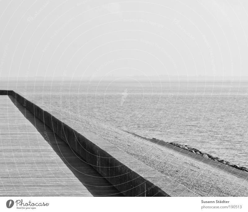 Nature Beautiful Ocean Beach Loneliness Calm Relaxation Environment Coast Wall (barrier) Waves Arrangement Island Bridge Hill Harbour