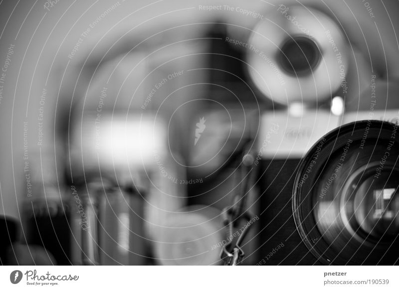 Old times? Style Media industry Camera Tool Technology Art Exhibition Museum Print media New Media Authentic Good Black Silver White Passion Loyalty Uniqueness