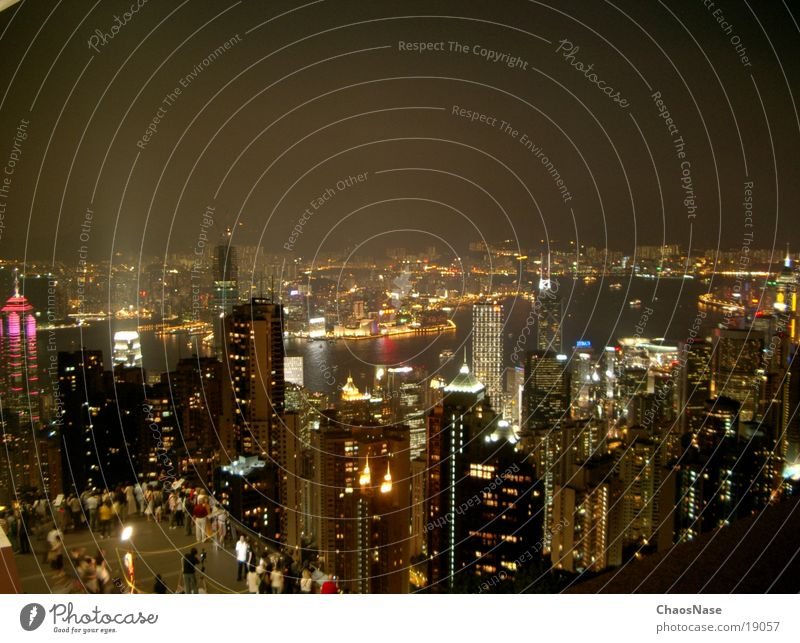 Hong Kong City China Hongkong Town Success Skyline