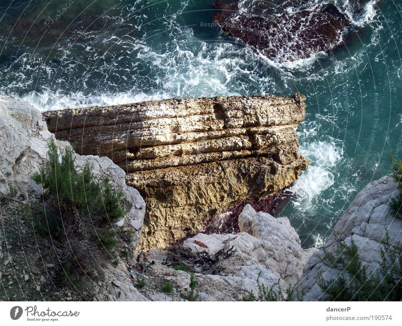 Nature Blue Water Vacation & Travel Ocean Summer Beach Mountain Coast Earth Weather Waves Wind Rock Island Drops of water