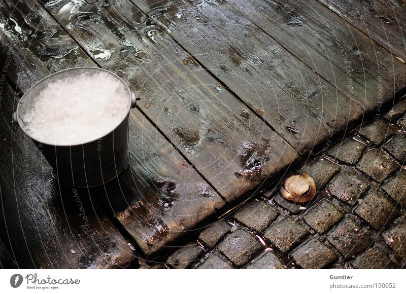 White Red Black Wood Brown Ice Wet Paving stone Cocktail Wooden floor Cold drink Bucket Floor covering Longdrink Ice cube Fish market