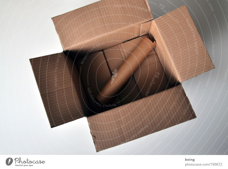 Packing paper in cardboard box Moving (to change residence) Workplace Trade Logistics Advertising Industry Craft (trade) Box Brown Services Safety Cardboard