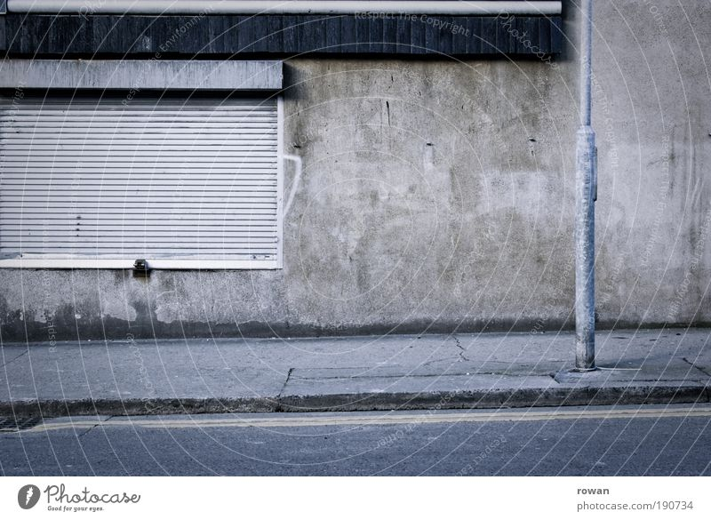 City Black Street Dark Wall (building) Gray Sadness Wall (barrier) Going Concrete Closed Empty Gloomy Asphalt Lantern Sidewalk