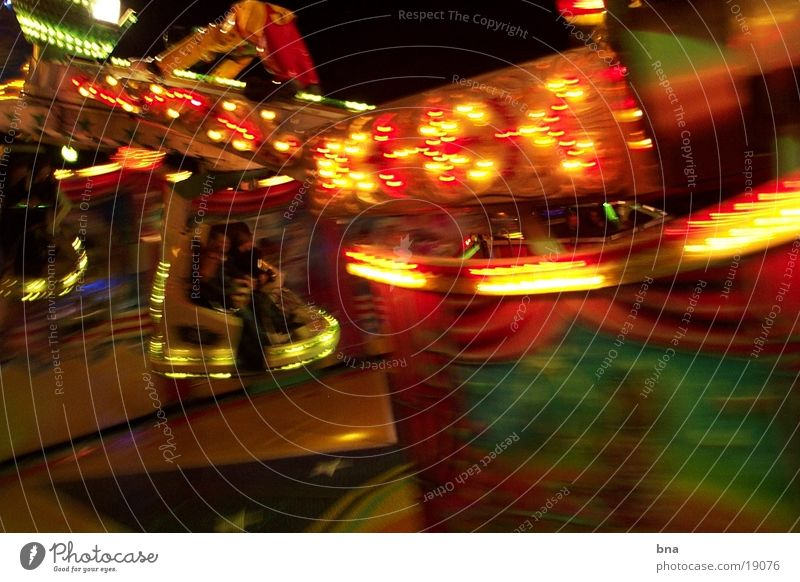 funfair Night Light Speed Fairs & Carnivals Club Kitmes