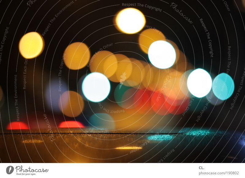 Nightlights Night life Going out Feasts & Celebrations Transport Means of transport Road traffic Motoring Street Lanes & trails Traffic light Road sign Vehicle