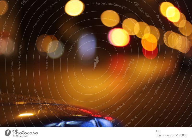 Street Freedom Movement Lanes & trails Car Moody Glittering Energy Transport Esthetic Illuminate Cool (slang) Lifestyle Uniqueness Driving