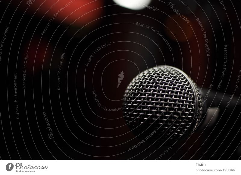 Just for me Leisure and hobbies Night life Event Music Concert Singer Black Silver Anticipation Passion Dream Joy Microphone Make music Shows Grating