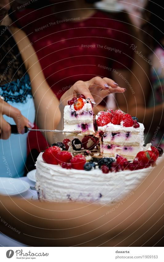 cake time Joy Life Lifestyle Style Food Freedom Feasts & Celebrations Moody Design Fruit Leisure and hobbies Nutrition Elegant Happiness Adventure Sweet