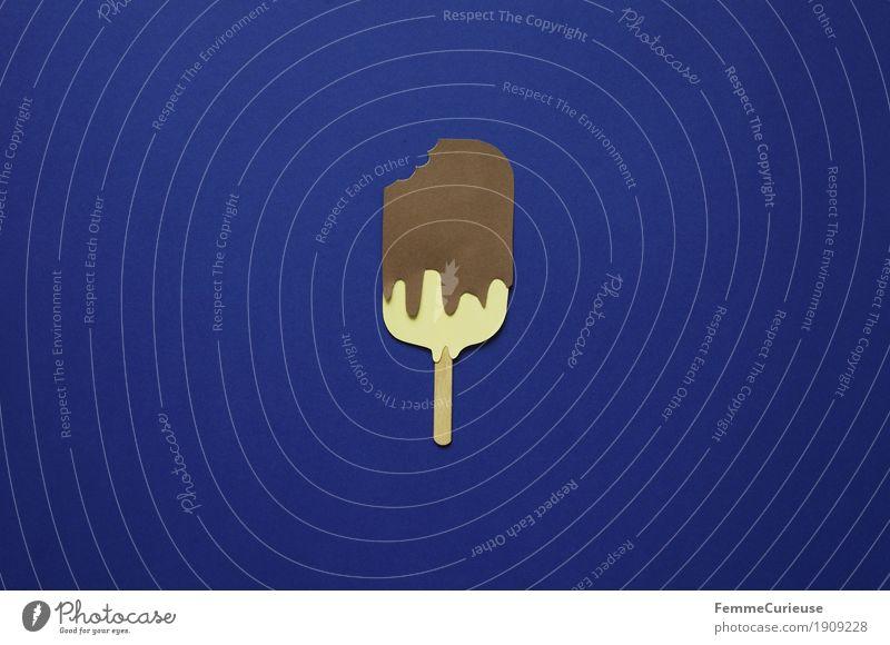 Ice_12 Nutrition Picnic Organic produce To enjoy Ice cream popsicle Chocolate ice cream Vanilla ice cream chocolate sauce Eating Corner Blue Rich in calories