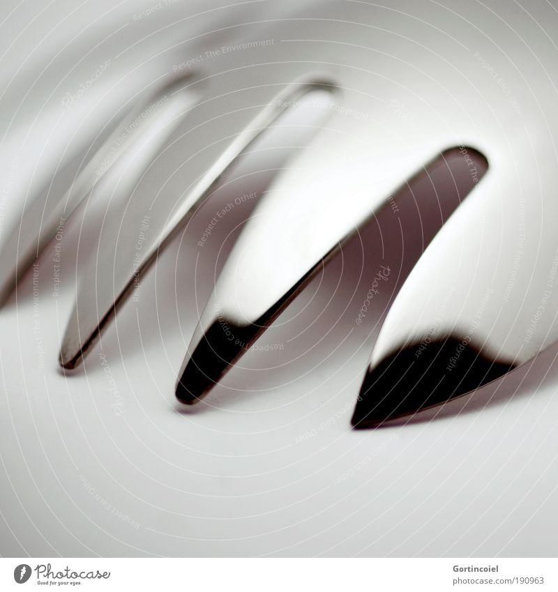 Nutrition Dark Style Gray Line Bright Metal Glittering Design Elegant Macro (Extreme close-up) Corner Point Delicate Silver