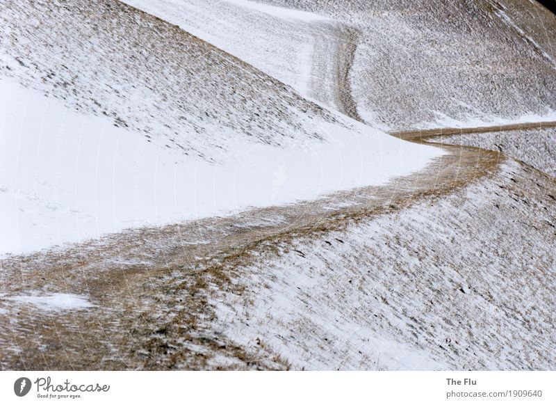 White Winter Mountain Lanes & trails Grass Snow Brown Going Weather Ice Hiking Perspective Italy Planning Hill Logistics